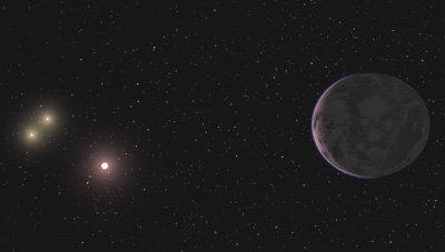 Impresionante! descubren un Planeta iluminado por tres Soles